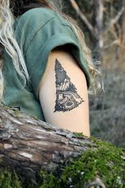 midnight pines themed collection original temporary tattoo