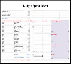 Financial Spreadsheet Budget Spreadsheets How Do You Do Yours