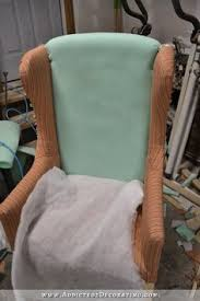 How To Reupholster Armchair Diy Wingback Dining Chair U2013 How To Upholster The Frame Part 1