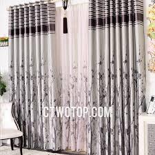 Plum Blackout Curtains Branch Plum Striped Simple Classic Living Room Cheap Curtains