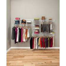 Wardrobe Cabinet With Shelves Closetmaid The Home Depot