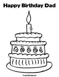 happy birthday dad coloring pages eassume happy birthday daddy
