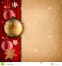 christmas card template baulbles and stars stock photos image