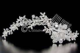 bridal hair combs bridal hair comb in a rhinestone vine design lynne