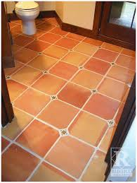 saltillo bedroom and bathroom flooring rustico tile and
