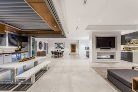the ultimate open plan entertainer open plan home design