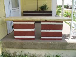 cinder block garden bench ideas