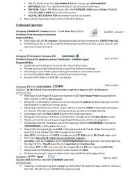 rf engineer resume sle 28 images automotive engineering