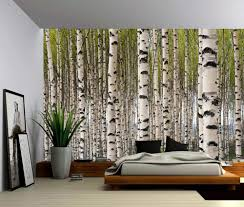 peel and stick vinyl wallpaper landscape birch forest self adhesive vinyl wallpaper peel stick