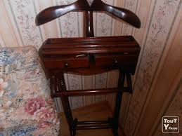 valet de chambre en bois chaise valet de chambre blanc mobilier décoration