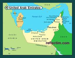 United Arab Emirates Map Map Of United Arab Emirates Travel