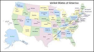 Printable Map Of Florida by Usa Map With States And Capitals Printable Maps Of Usa