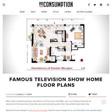 Famous House Floor Plans Famous Television Show Home Floor Plans Pearltrees