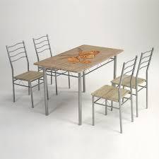 table cuisine 4 chaises rustique ensemble de table de cuisine 4 chaises achat vente