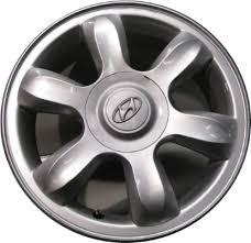 rims for hyundai accent aly70724 hyundai accent wheel silver painted 529101e300