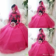fuschia wedding dress discount 2015 wedding dress black and fuschia a line high
