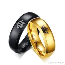 couples wedding rings images 2018 wholesale stainless steel couple wedding bands rings unique jpg