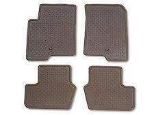 2014 jeep floor mats set of 4 oem pebble beige rubber slush mats 2011 2014 jeep compass