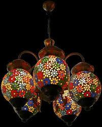 Multi Coloured Chandeliers Multi Color Chandelier In Jaipur Rajasthan Niru S