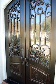 Double Front Entrance Doors by Double Front Entry Doors Versailles Panel Design Eyebrow Top