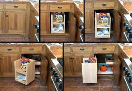 Corner Wall Cabinet Kitchen by Decor Pull Out Wooden Blind Corner Cabinet Matched With Wall For