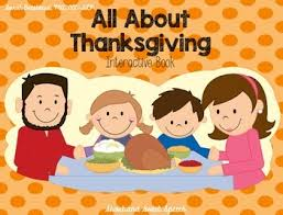 all about thanksgiving interactive book by and sweet speech