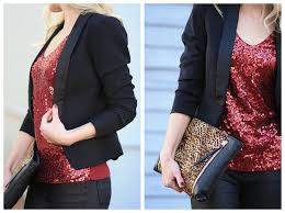 new year s tops new year sparkle tuxedo blazer sequin top leather