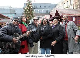 members of the gospel choir u0027the harlem gospel singers u0027 sing stock