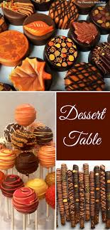 autumn leaves chocolate covered oreo s fall cake pops pretzel