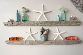 themed shelves wall shelves design reclaimed driftwood wall shelves diy