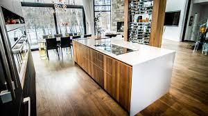 kitchen designers calgary urban kitchen in walnut ateliers jacob calgary