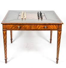 Maitland Smith Coffee Table Maitland Smith Mahogany Game Table Ebth