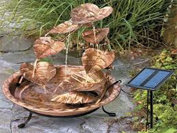 Garden Water Fountains Ideas Decorative Small Water Fountains Ideas Oo Tray Design