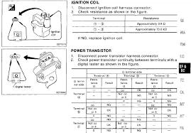 nissan versa ignition coil sentra distributor nissan forum