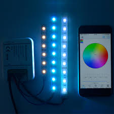 Wireless Led Strip Lights by Sunix Wireless Rgb Wifi Led Strip Controller Android Smartphone 12