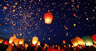 luck lanterns lighting up paper lanterns to pray for luck caused serious go