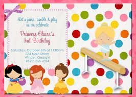 princess gymnastics birthday invitation digital file