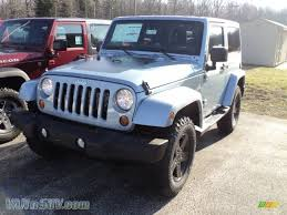 jeep arctic edition 2012 jeep wrangler sahara arctic edition 4x4 in winter chill pearl