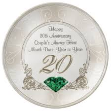 20th wedding anniversary gift 20th wedding anniversary gifts t shirts posters other