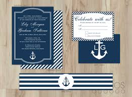nautical themed wedding invitations nautical wedding invitations marialonghi