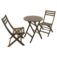 Tesco Bistro Chairs Buy Windsor Wooden Garden Bistro Set From Our All Garden Furniture