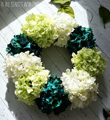 hydrangea wreath to make a hydrangea wreath