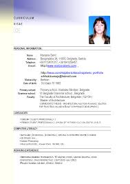 100 sample of job resume cv sample for job amitdhull co