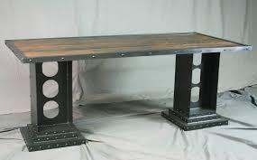 industrial desk l office desk corner desk l shaped office desk rustic industrial
