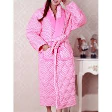 robe de chambre femme moderne robe de chambre matelassée femme pois achat vente robe de