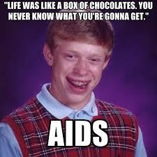 Whats In The Box Meme - bad luck brian memes create meme