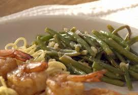cuisine haricot vert haricots verts almondine