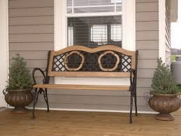 front porch bench ideas common types different materials and styles that available in