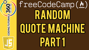 quote art generator free random quote machine part 1 front end projects free code camp