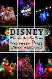 disney iphone wallpapers mickey u0027s not so scary halloween party